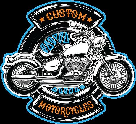 Custom Motorcycle Sign