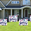 Thumbnail: Happy Birthday Yard Sign - Red Personalized