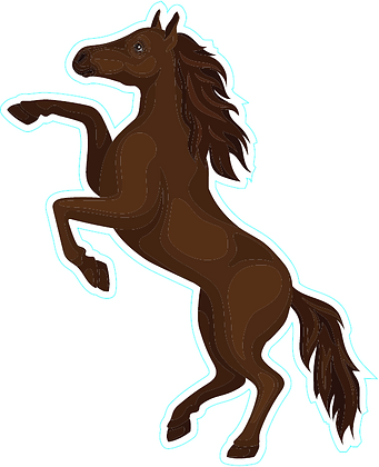Horse_Dark Brown