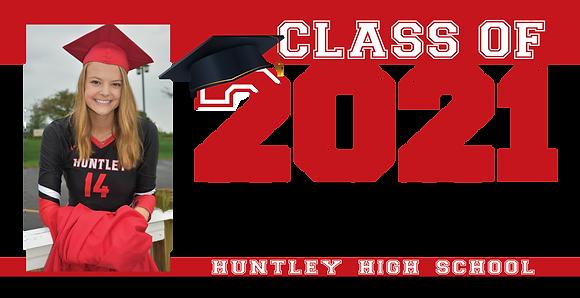 Graduation Banner - 6'x3' 1 Photo