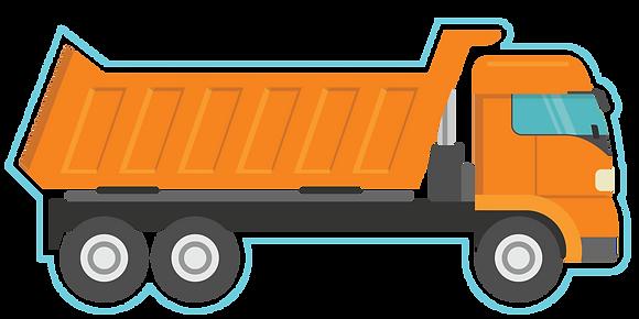 Dump Truck -Orange