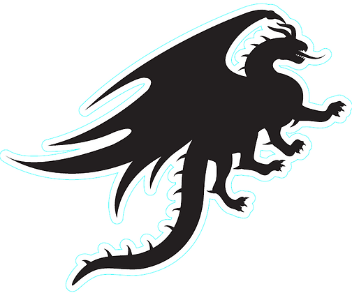 Dragon_Silhouette A