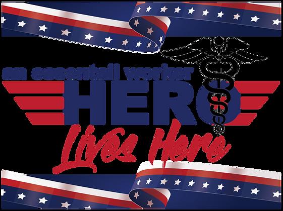 Yard Sign - Healthcare Hero, Nurse