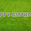 Thumbnail: HAPPY BIRTHDAY Letter Set - Gray