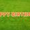 Thumbnail: HAPPY BIRTHDAY Letter Set - Orange