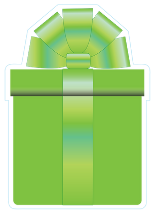 Present: Lime Green