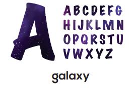 Alphabet - Galaxy