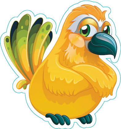 Bird_Yellow and Green