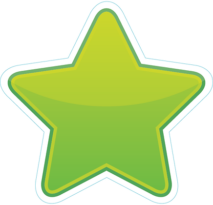Star_Lime Green
