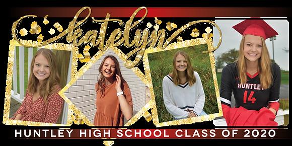 Graduation Banner - 6'x3' 4 Photos