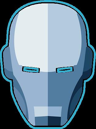 Superhero Mask: Blue