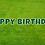 Thumbnail: HAPPY BIRTHDAY Letter Set -Hunter Green