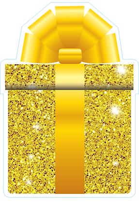 Present: Yellow Sparkle