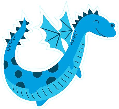Dragon Cute_Blue