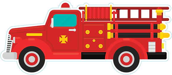 Fire Truck Side View_v2
