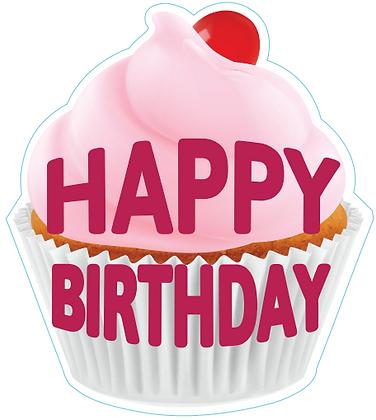 Birthday Cupcake - Pink 1