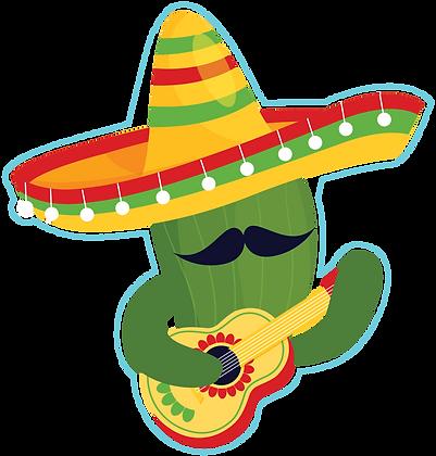 Cactus Guitar Player