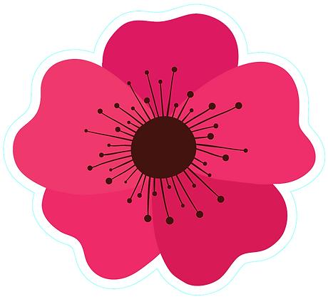 Flower_Dark Pink1