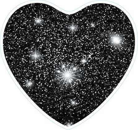 Heart_Black Sparkle