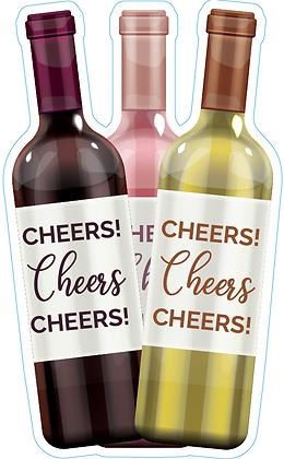 Wine Bottle Trio