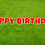 Thumbnail: HAPPY BIRTHDAY Letter Set -Red