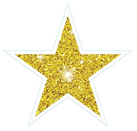 Star (Sharp Edge): Yellow Sparkle