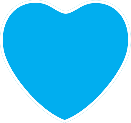 Heart_Bright Blue