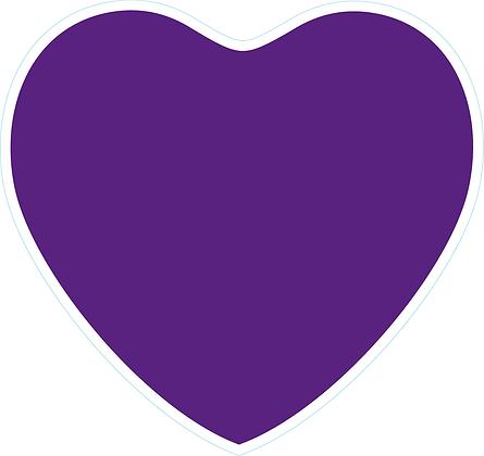 Heart_Dark Purple