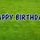 Thumbnail: HAPPY BIRTHDAY Letter Set - Dark Blue