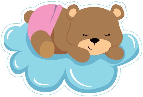 Baby Girl- Sleeping Bear