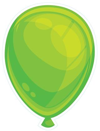 Balloon: Lime Green