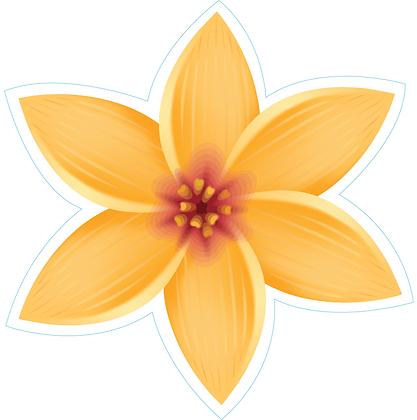 Hawaiian Flower_Yellow