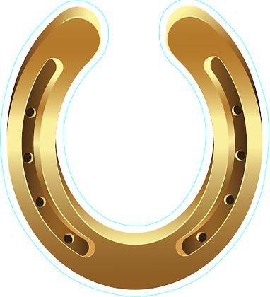 Horse Shoe - Gold