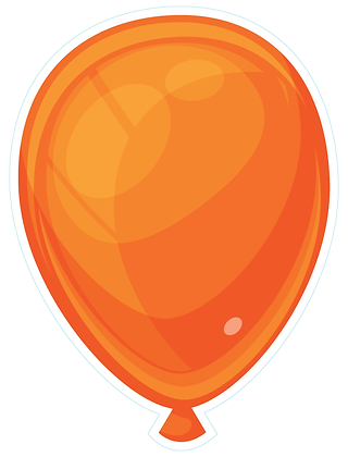 Balloon: Orange