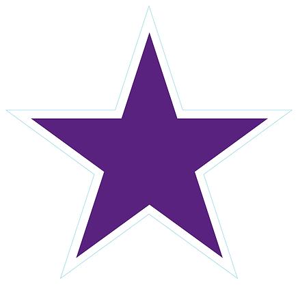 Star (Sharp Edge): Dark Purple