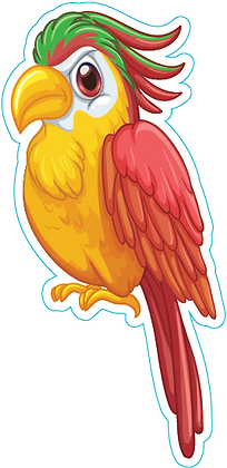 Bird_Yellow and Red
