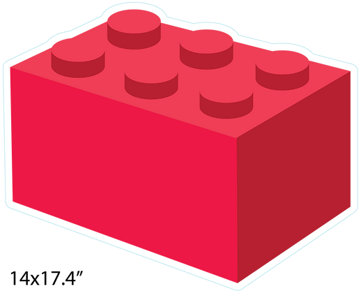 Building Brick: Red
