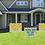 Thumbnail: Happy Birthday Yard Sign - Emoji