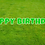 Thumbnail: HAPPY BIRTHDAY Letter Set -Lime Green
