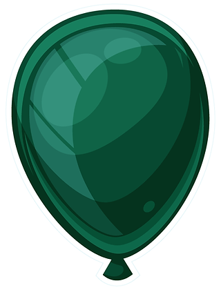 Balloon: Dark Green