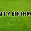 Thumbnail: HAPPY BIRTHDAY Letter Set - Black