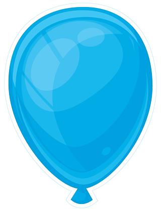 Balloon: Bright Blue