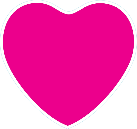 Heart_Bright Pink