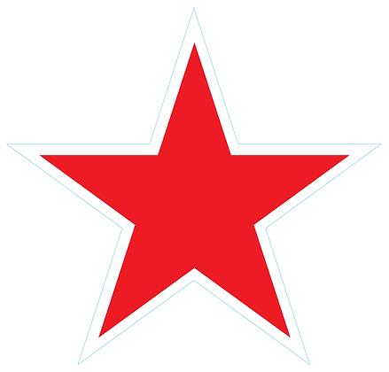 Star (Sharp Edge): Red
