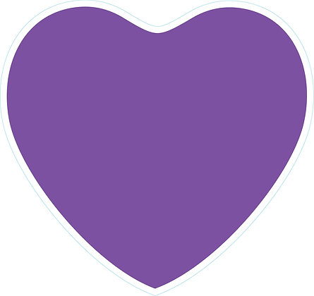 Heart_Light Purple