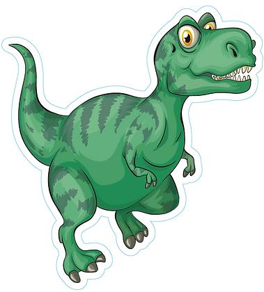 Dinosaur_Cute Green