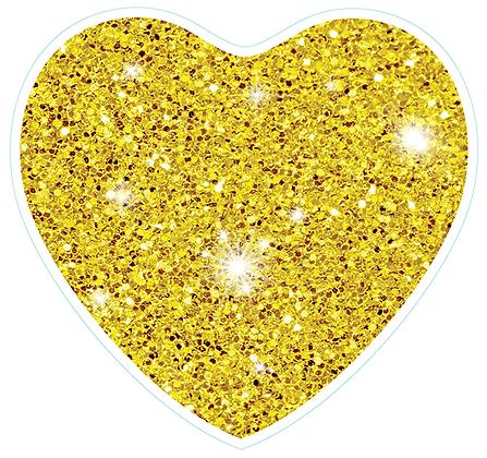 Heart_Yellow Sparkle