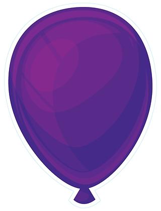 Balloon: Deep Purple