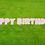 Thumbnail: HAPPY BIRTHDAY Letter Set -Light Pink