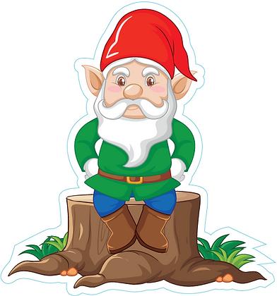 Garden Gnome_Green
